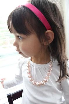 Ribbons and Pearls Necklace Tutorial
