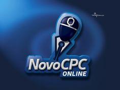 Logotipo Novo Código de Processo Civil Online, criado pela Ópera para o Grupo Enseja | Recife PE.