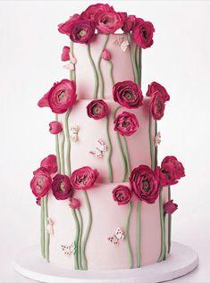 Beautiful poppy cake.