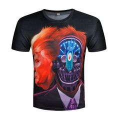 President t-shirt Donald Trump T shirt 3D Printed Tshirt Funny Top Tees Campaign Election Candidate T-shirts 2017 ZOOTOP BEAR