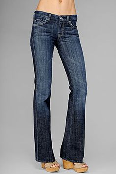 Best jeans ever.....7 For All Mankind A-Pocket Flare New York wash