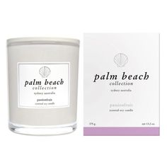 Passionfruit Palm Beach Candle - Seaweed and Sand
