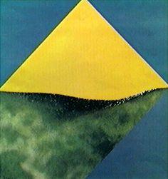 Sem Título 1974 | Tomie Ohtake óleo sobre tela, c.i.e. 135.00 x 135.00 cm