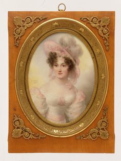 1828 Jean-Baptiste Isabey - Mrs. Rufus Prime (Augusta Temple Palmer)