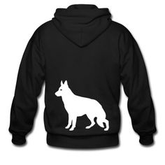 This German Shepherd Zip Hoodie is printed on a Zip Hoodie and designed by 65shirts. Available in many sizes and colours. Buy your own Zip Hoodie with a German Shepherd design at Spreadshirt, your custom t-shirt printing platform!