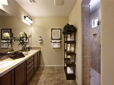 Pulte Master Baths are spacious enough for two. | Pulte Homes