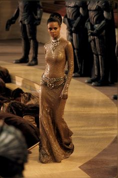 Thandie Newton as Dame Vaako in The Chronicles of Riddick 2004