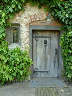 Oak Doorway, Baddesley Clinton, England