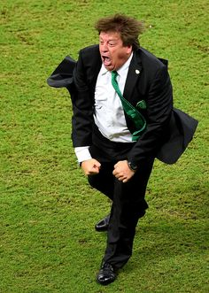 """Breaking World Cup News: Mexico's Head Coach Is Actually A Character From """"Dragon Ball Z"""""""