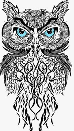 full sleeve tattoos with meaning Owl Neck Tattoo, Arm Sleeve Tattoos, Sleeve Tattoos For Women, Full Neck Tattoos, Unique Half Sleeve Tattoos, Full Sleeve Tattoo Design, Paisley Tattoo Design, Tattoo Designs, White Owl Tattoo
