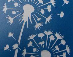 Orchidea spray Stencil di kraftkutz su Etsy