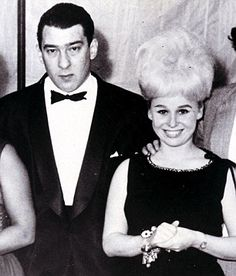 Ronnie Kray and Barbara Windsor in the 1960s