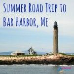 Bar Harbor Lighthouse Square with Title
