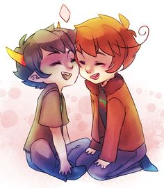 asdfghjkl Hetalia and homestuck are moirails guys.<---- if me and my moirail were fandoms, we would be Hetalia and Homestuck. I'm more like Hetalia, and she's more like Homestuck.