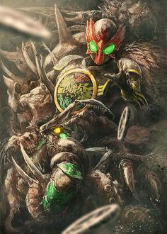 masked rider: