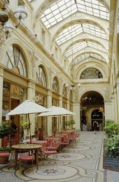 Parisian Arcade Cafe