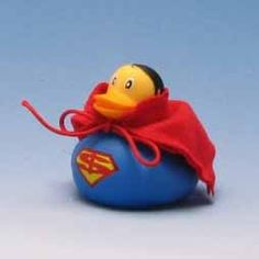 Superman Rubber Duck