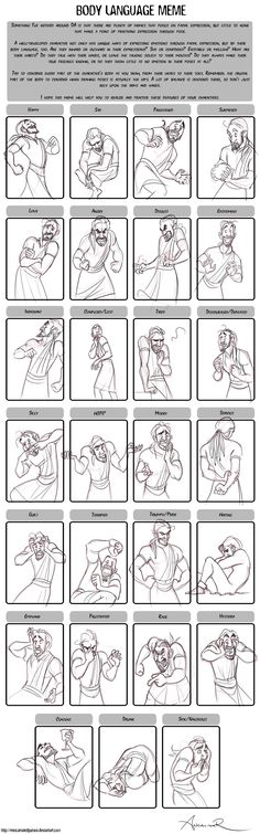 Body Language Meme by ancalinar.deviantart.com on @deviantART