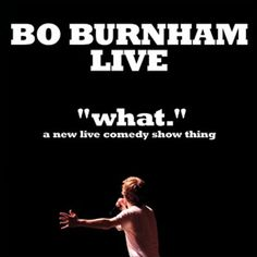 """The second leg of the Bo Burnham Live – """"what."""" tour continues this fall and it's finally here in #Dallas, Oct 9th. #BoBurnham"""