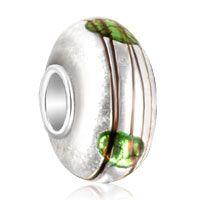 Gitter Green Mark Murano Glass Beads Charms Bracelets Fit All Brands