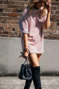stripes/dress