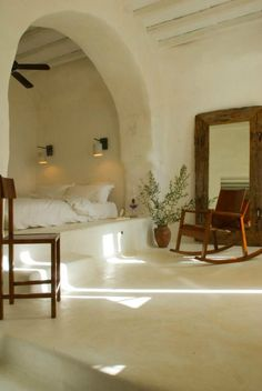 traditional house in greek island tinos by zege Traditional House In Greek Island By Zege interior design Home Bedroom, Bedroom Decor, Bedrooms, Bedroom Nook, Design Bedroom, Home Design, Interior Design, Design Ideas, Earth Homes