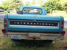 1971 IH 1210 pickup