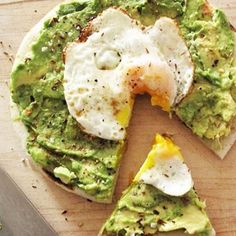 Repin If This Avocado Egg Breakfast Pizza Makes Your Mouth Water! - Click for More...