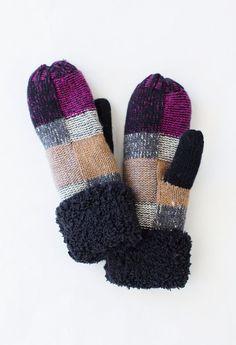CC Knit Mittens