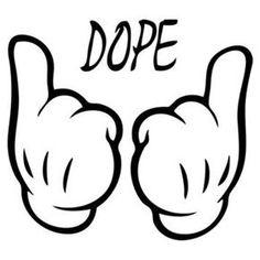 Dope – Graffiti World Graffiti Lettering, Graffiti Art, Graffiti Wallpaper, Tattoo Drawings, Art Drawings, Doodle Drawing, Mickey Hands, Graffiti Characters, Desenho Tattoo