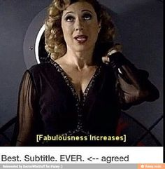 Fabulousness increases