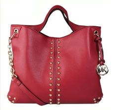 http://www.bonanza.com/listings/Worldwide-Free-Shipping-Michael-Kors-Chain-And-Rivet-Astor-Bag-Red/174433657