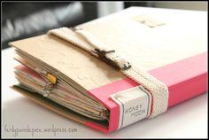carnet de voyage façon scrapbook avec un smashbook