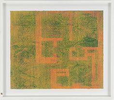 Mari Rantanen: Utan titel, 2001, monotypia, 48x50 cm - Bukowskis Market 2016