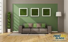 """Go (Olive) Green  """"Olive greens will be popular in 2015,"""" said interior designer Capella Kincheole. """"The shade is warm, organic, and neutral for almost any other color you pair with it.""""   #InteriorDesign"""