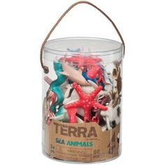 Free 2-day shipping on qualified orders over $35. Buy Terra Sea Animal Figures, 60-Piece Set at Walmart.com