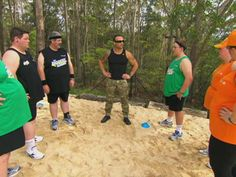 Commandos training sand pit - TBL