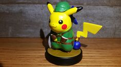 Custom Link Pikachu amiibo -  View more here: http://buyamiibo.com/custom-amiibo-gallery/