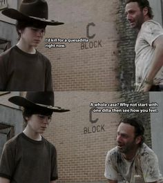 The 19 Greatest Dad Jokes From Rick Grimes- This is so stupid I laughed my ass off!!!!!