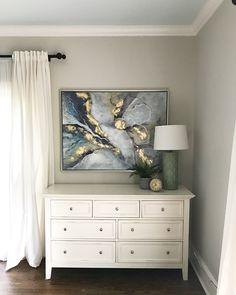 Benjamin Moore Edgecomb Gray paint color scheme idea