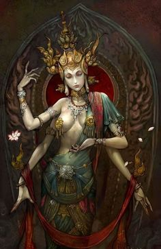 Kali is the Hindu Goddess who removes the ego and liberates the soul from the cycle of birth and death.