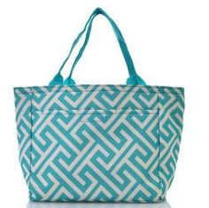 Monogrammed Lunch Bag by SoBlessedMonogrammed on Etsy