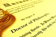 """""""After I Get Onto College and Earn My Bachelor's and Master's Degree, I'd Like To Work Towards Obtaining My PhD."""""""