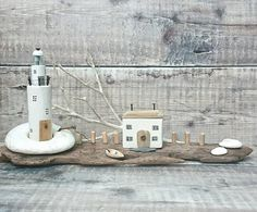 Check out this item in my Etsy shop https://www.etsy.com/uk/listing/529763088/wood-lighthouse-driftwood-house-keepers