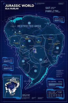 Movie Replica Special Listing Jurassic World Geek Decor Jurassic World Fallen Kingdom, Jurassic Park World, Lego Jurassic Park, Michael Crichton, Jurassic Park Islands, Jurassic World Wallpaper, Jurrassic Park, Geek Decor, Island Map