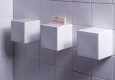 Ten 3D Function Tiles For Small Bathrooms by Drood Design (View #2)