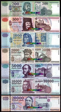 hangary currency | Hungary banknotes - Hungary paper money catalog and Hungarian currency ...