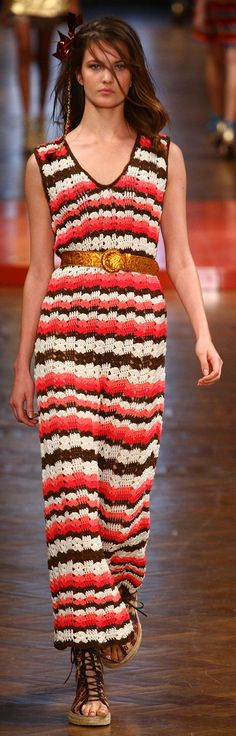 Cavendish at Fashion Rio, Summer 2012. Crochet Dress