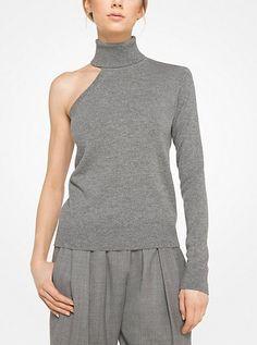 Cashmere Asymmetrical Pullover