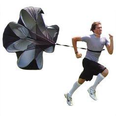 Juoksuvarjo, hauska lisä fysiikan liikkeen lait kurssille.